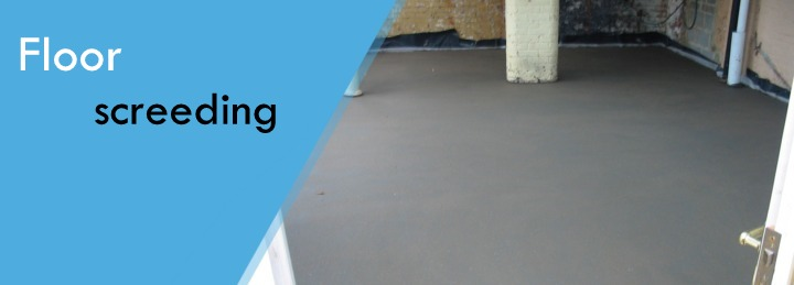 Floor Screeding at Surefit Carpets
