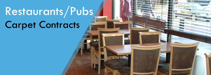 Restaurant and Pub flooring constracts at SUrefit Carpets